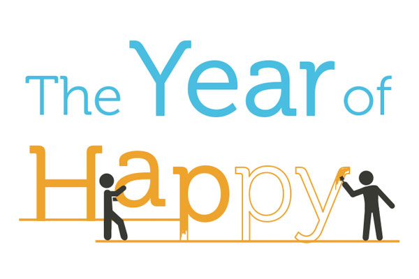 Want to Be Happier in 2015? Join the Year of Happy!