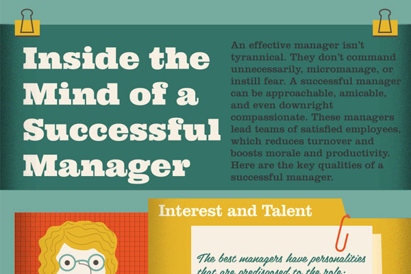 [Infographic] Inside the mind of a successful manager