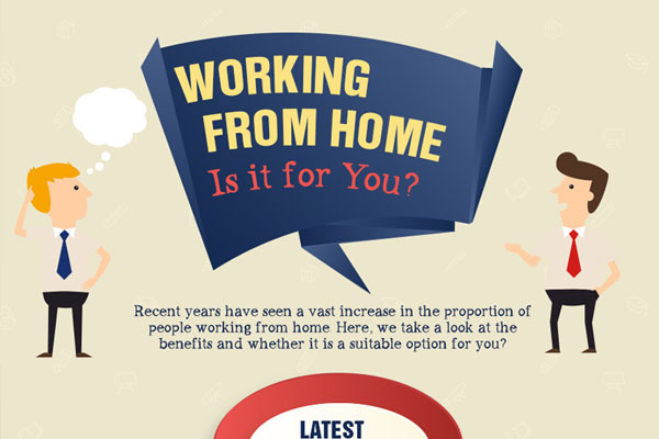 [Infographic] Working from home – Is it for you?