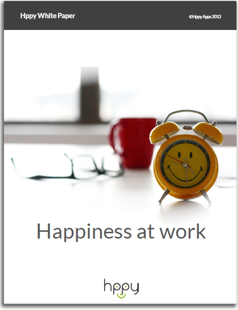 Happiness At Work – Hppy White Paper