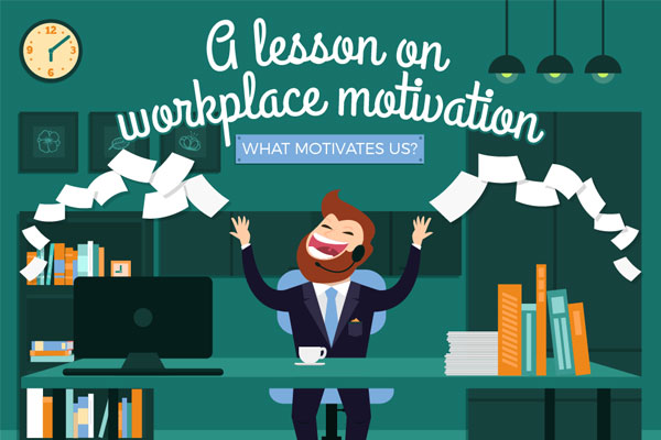 [Infographic] A Lesson On Workplace Motivation