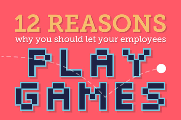 [Infographic] 12 Reasons Why Office Games Are Good For Morale