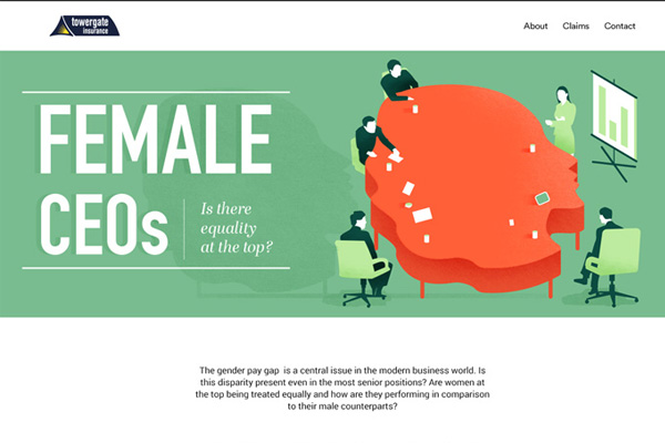 [Infographic] Female Leaders, Do They Have Equality at The Top?