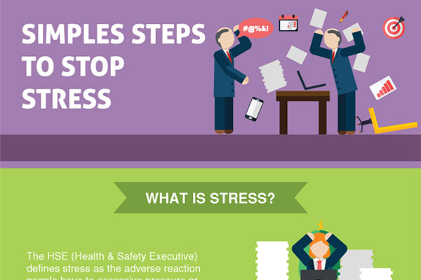 [Infographic] Simple Steps to Subside Stress