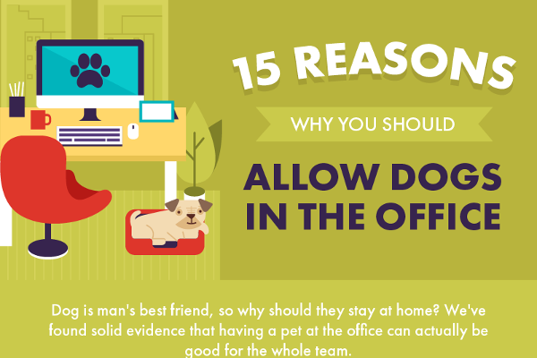 [Infographic] 15 Reasons Why You Should Allow Dogs in the Office