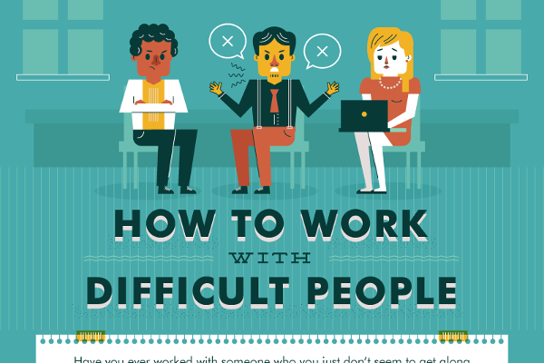 [Infographic] How To Create A Better Work Atmosphere By Defusing Difficult Colleagues