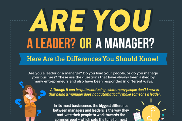 Are You a Leader or a Manager? Here Are the Differences You Should Know