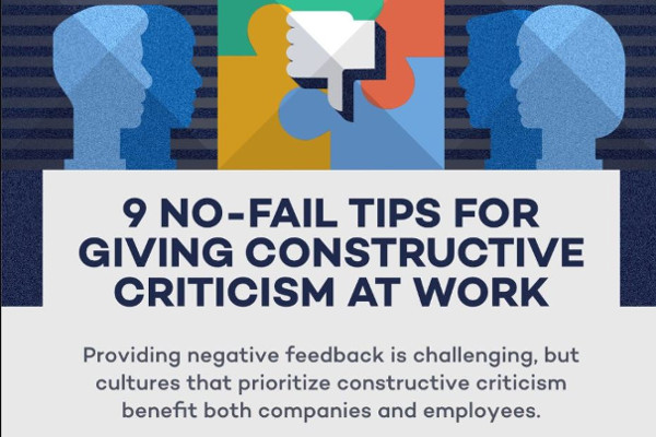 [Infographic] 9 No-Fail Tips For Giving Productive Feedback