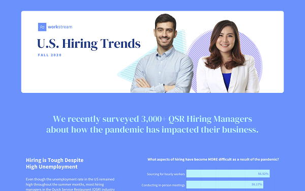 U.S. Hiring Trends for Fall 2020